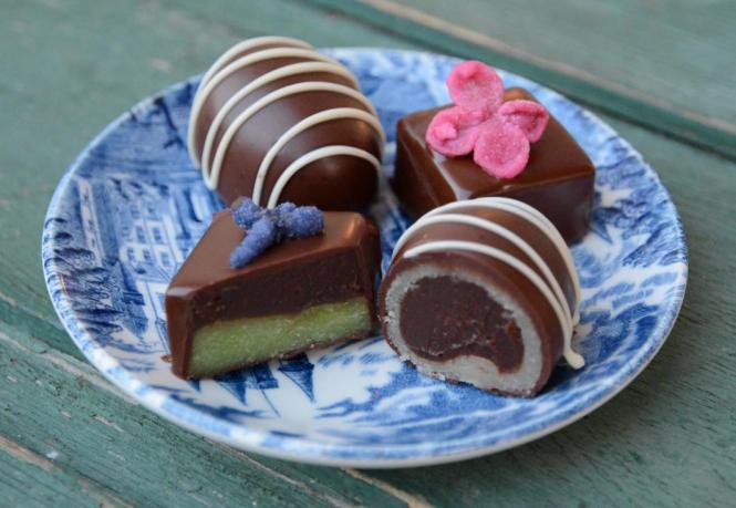 mandelmassa choklad recept